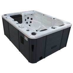 Montreal - 3 Person Hot Tub - 2.13m x 1.60m - Free Delivery and Install + Chemical Kit worth £120 (Requires 230 V/20 Amp RCD breaker - Not Included)