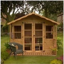 12 x 8 Deluxe Tongue and Groove Summerhouse with 12mm Tongue and Groove Floor and Roof