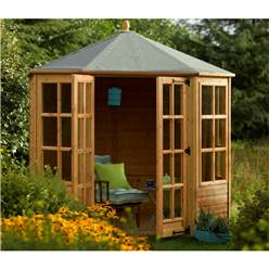 Ryton 8 x 8  Octagonal Nantwich Summerhouse