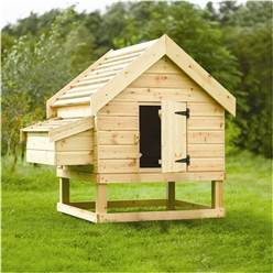 Nantwich Pressure Treated Chicken Coop - Houses 6