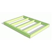 Pressure Treated  Wooden Base Frame + Damp Proof Roll - Bespoke (6m x 5.5m)
