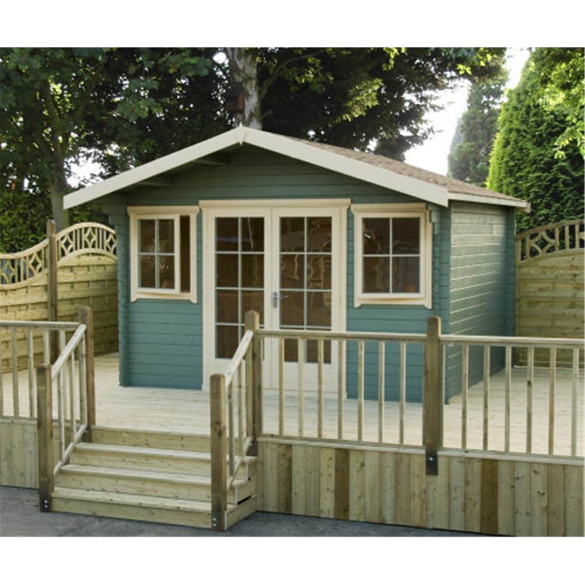 Foxton Log Cabins : 3.69m X 2.99m Superior Home Office Log Cabin . Full resolution  picture, nominally Width 1200 Height 1200 pixels, picture with #595133.