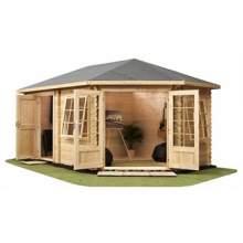 Corner Octagonal Cabins
