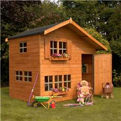 Cottage Playhouse - Double Storey - 8 x 6