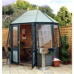 8 x 6 Deluxe Tongue and Groove Octagonal Summerhouse