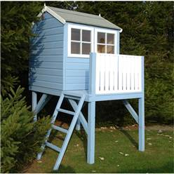 4 x 6 Superior Tower + Platfrom Playhouse