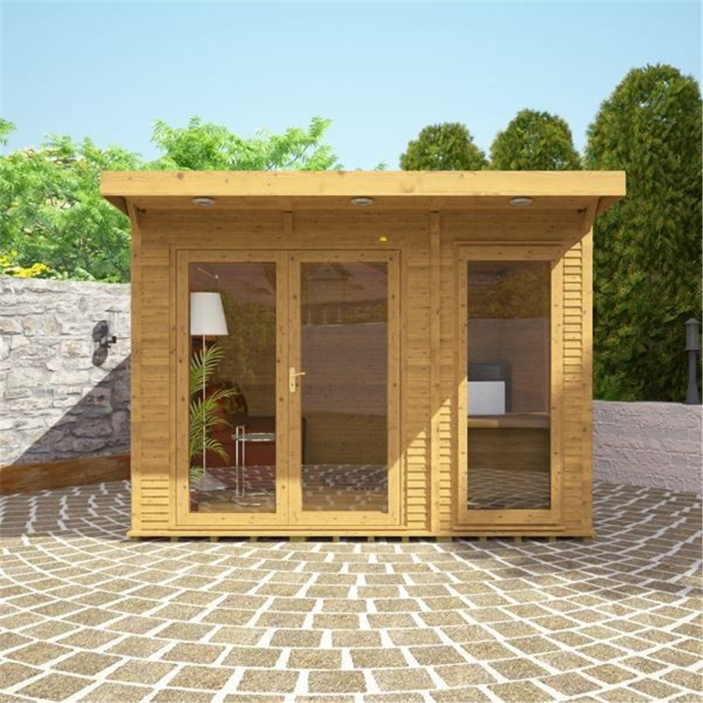 terrific insulated garden room | Avon 3m x 3m Insulated Garden Room - INCLUDES FREE INSTALL